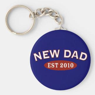 New Dad 2010 Keychain