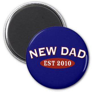 New Dad 2010 Refrigerator Magnets