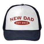 New Dad 2010 Mesh Hats