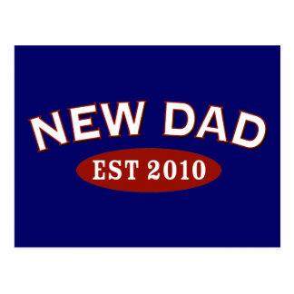 New Dad 2010 Postcard