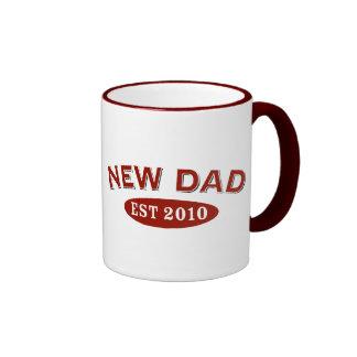 New Dad 2010 Ringer Mug