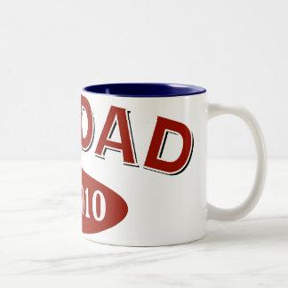 New Dad 2010 Two-Tone Coffee Mug