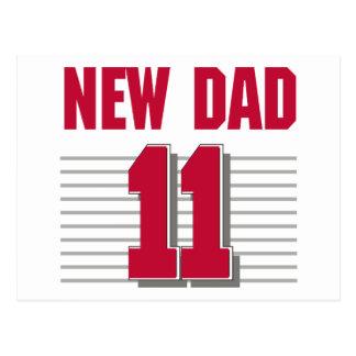 New Dad 2011 Postcard