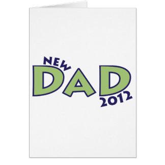 New Dad 2012 Card