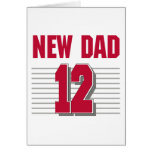 New Dad 2012 Greeting Cards