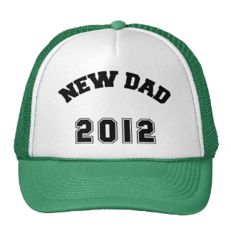 New Dad 2012 Hats