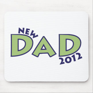 New Dad 2012 Mouse Pad