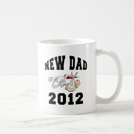 New Dad 2012 Coffee Mugs