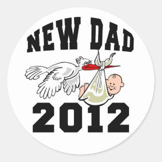 New Dad 2012 Sticker