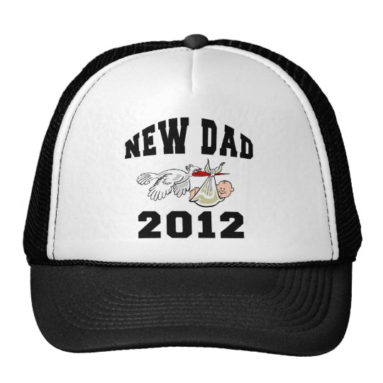 New Dad 2012 Trucker Hat