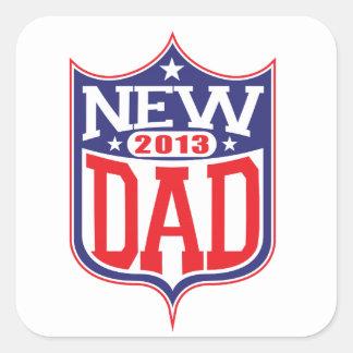 New Dad 2013 Square Sticker