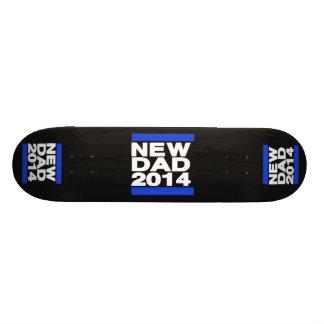New Dad 2014 Blue Skateboard Decks