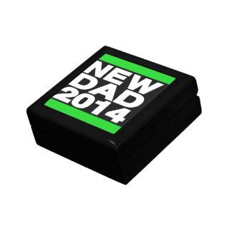 New Dad 2014 Green Jewelry Box