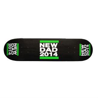 New Dad 2014 Green Custom Skateboard