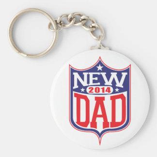 New Dad 2014 Key Chain