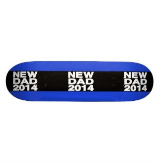New Dad 2014 Lg Blue Skateboard Deck