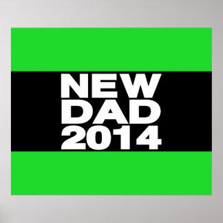 New Dad 2014 Lg Green Print