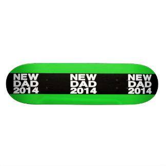 New Dad 2014 Lg Green Custom Skate Board