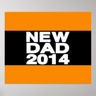 New Dad 2014 Lg Orange Print