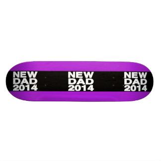 New Dad 2014 Lg Purple Custom Skate Board