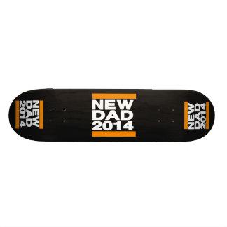 New Dad 2014 Orange Skate Deck