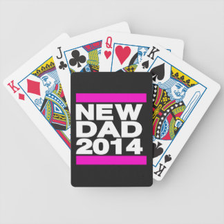 New Dad 2014 Pink Bicycle Playing Cards