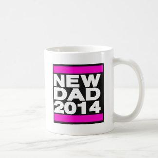 New Dad 2014 Pink Coffee Mugs