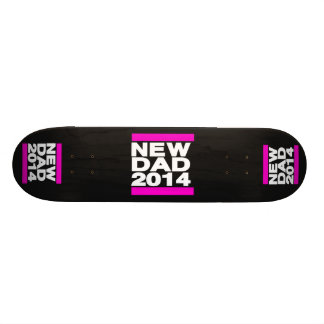 New Dad 2014 Pink Skate Board Deck