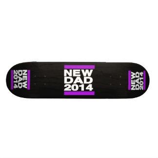 New Dad 2014 Purple Custom Skate Board