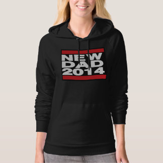 New Dad 2014 Red Hoodie