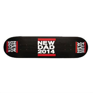 New Dad 2014 Red Skate Boards