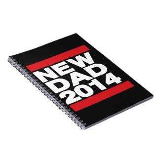 New Dad 2014 Red Spiral Notebook