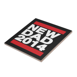 New Dad 2014 Red Tile