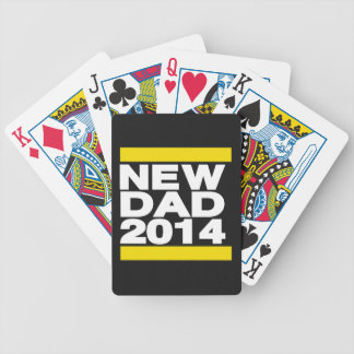 New Dad 2014 Yellow Bicycle Playing Cards