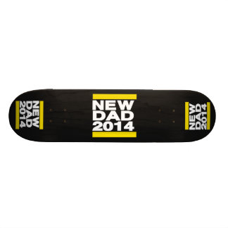 New Dad 2014 Yellow Skateboards