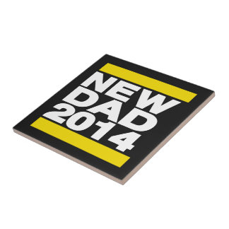 New Dad 2014 Yellow Tile