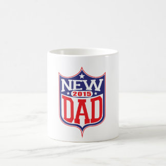 New Dad 2015 Classic White Coffee Mug