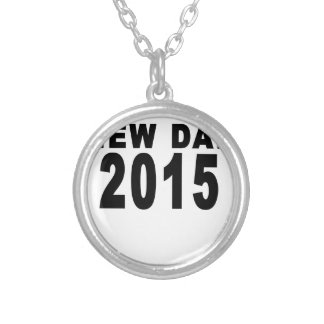 NEW DAD 2015.png Custom Necklace