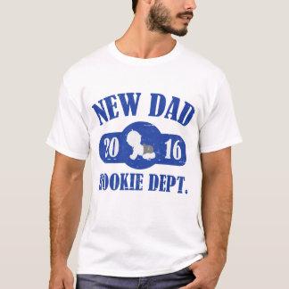 NEW DAD 2016 ROOKIE DEPT. T-Shirt