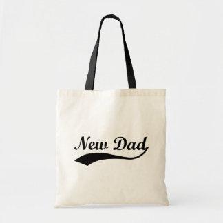 New Dad Canvas Bag