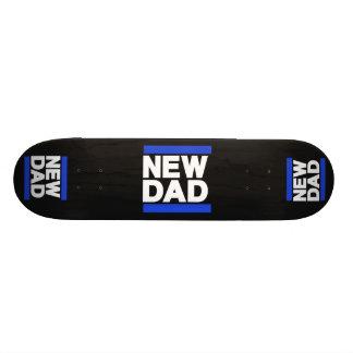 New Dad Blue Skateboard Deck