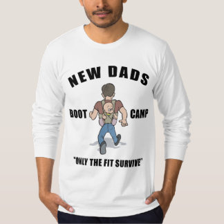 New Dad Boot Camp T-Shirt