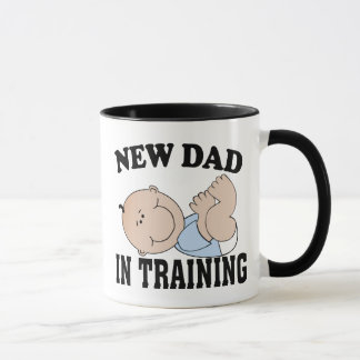 NEW DAD BOY MUG