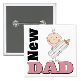 New Dad Button