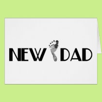 New Dad Card