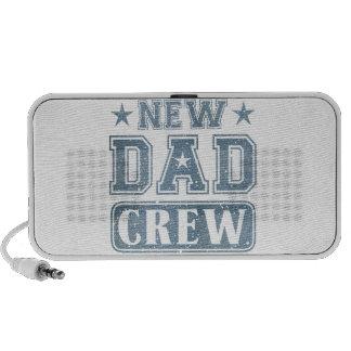 New Dad Crew Denim Texture Speakers