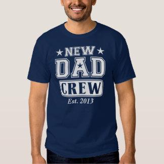 New Dad Crew (Est. Year Customizable) T-shirt