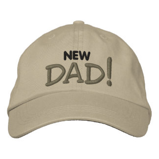 New DAD! Embroidered Baseball Hat