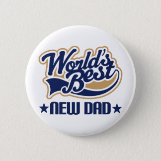 New Dad Gift Pinback Button