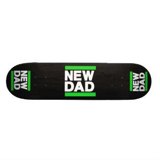 New Dad Green Custom Skate Board
